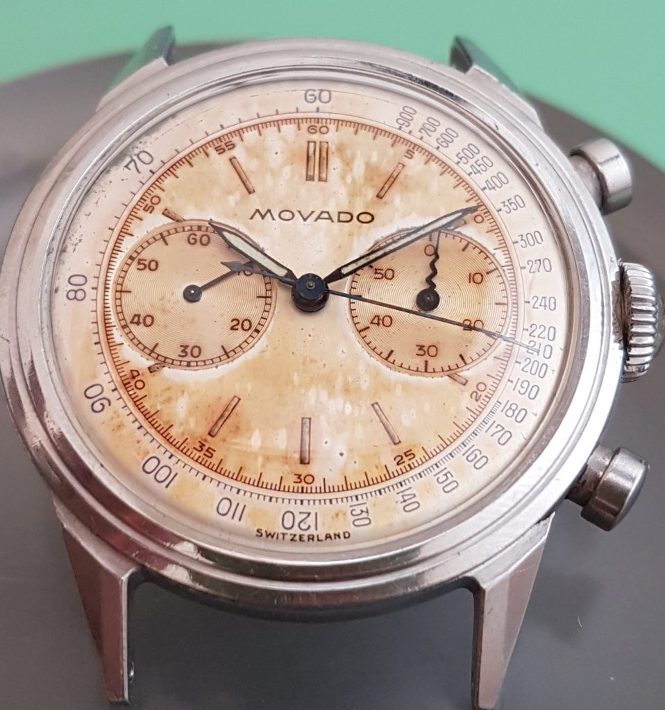 Movado M90 Chronograph, en gave fra Kong Haakon
