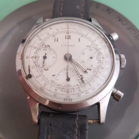 Eterna Chronograph, en skjelden klokke fra 1955