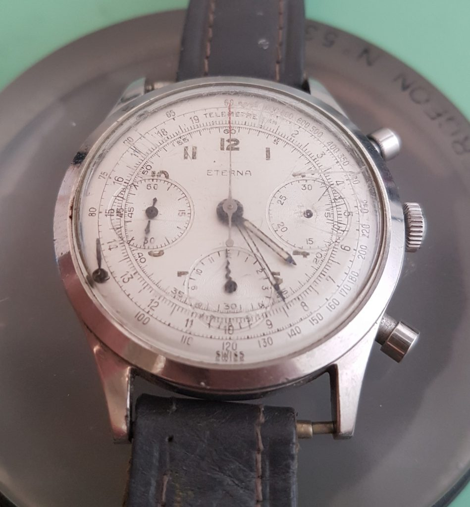eterna cronograph 1955